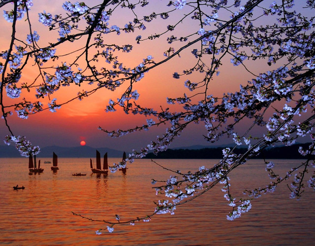 59. Sunset in Japan