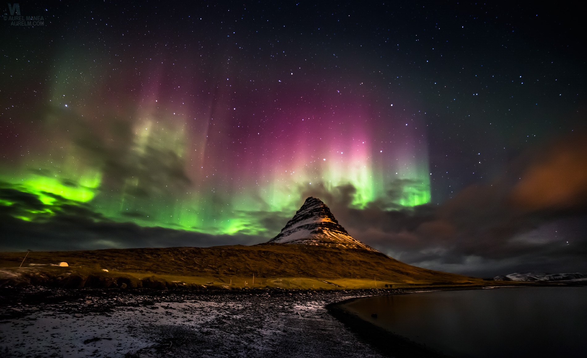 62. Aurora in Northern Iceland