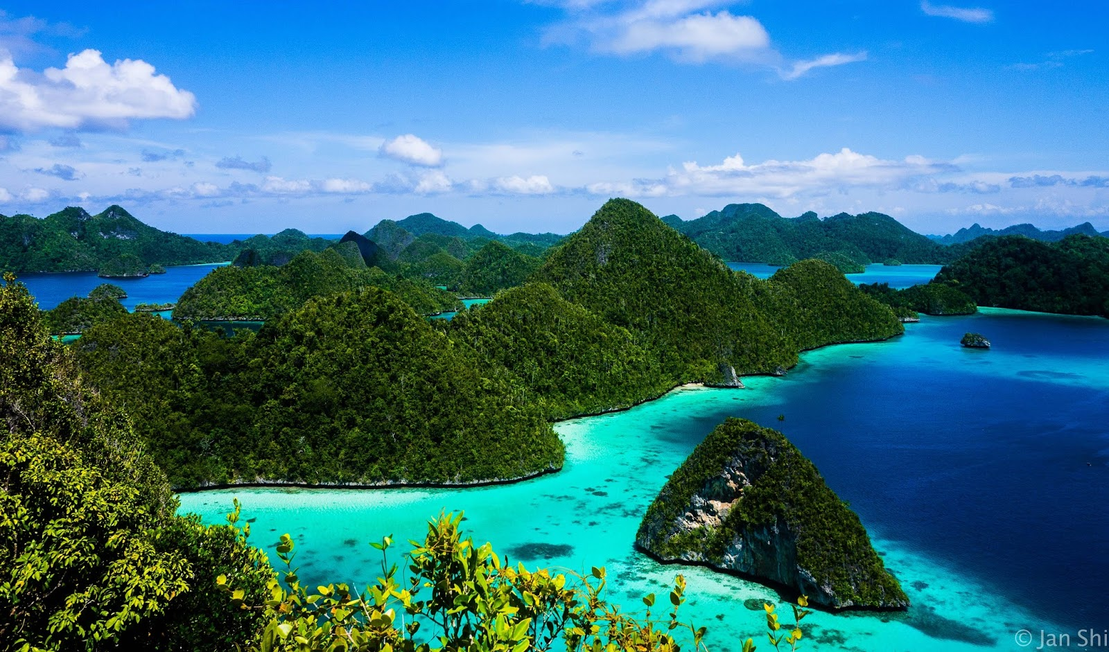 65. Blue sky in Raja Ampat