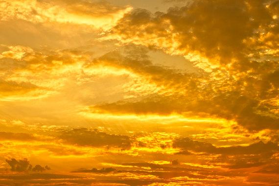 71. golden sky