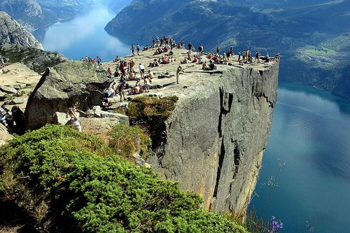 78. Pulpit Rock in Norway