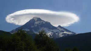 87. Lenticular cloud over Mt. Olympus