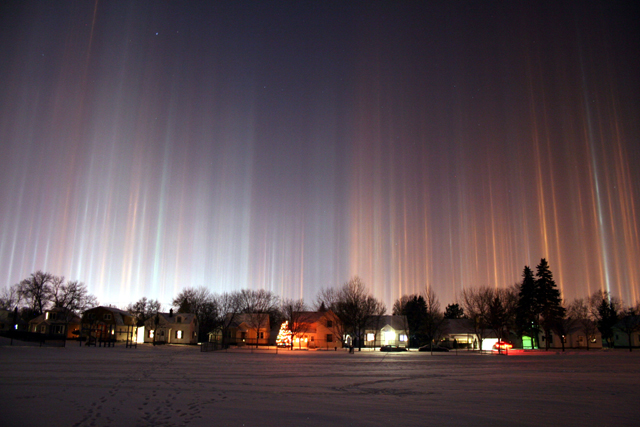 90. Light Pillars