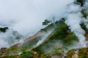 96. Valley geyser Russia